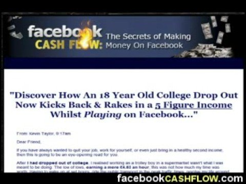 Make Money Online With Facebook Cash Flow