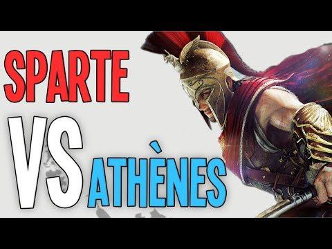 Sparte VS Athènes - L'Odyssey du Péloponnèse