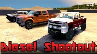 Spin Tires | Chevy vs Ford vs Dodge | Ultimate Diesel Truck Shootout | Part 1