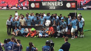 Man City 2-0 Chelsea | First Trophy of the season