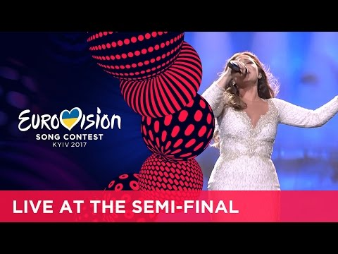 Claudia Faniello - Breathlessly (Malta) LIVE at the second Semi-Final