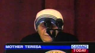 Mother Teresa @ National Prayer Breakfast