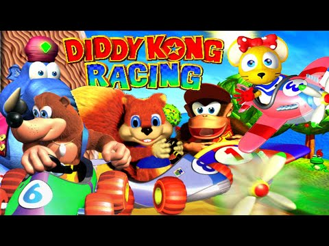 ABM: Nintendo 64 Diddy Kong Racing MATCH!! HD