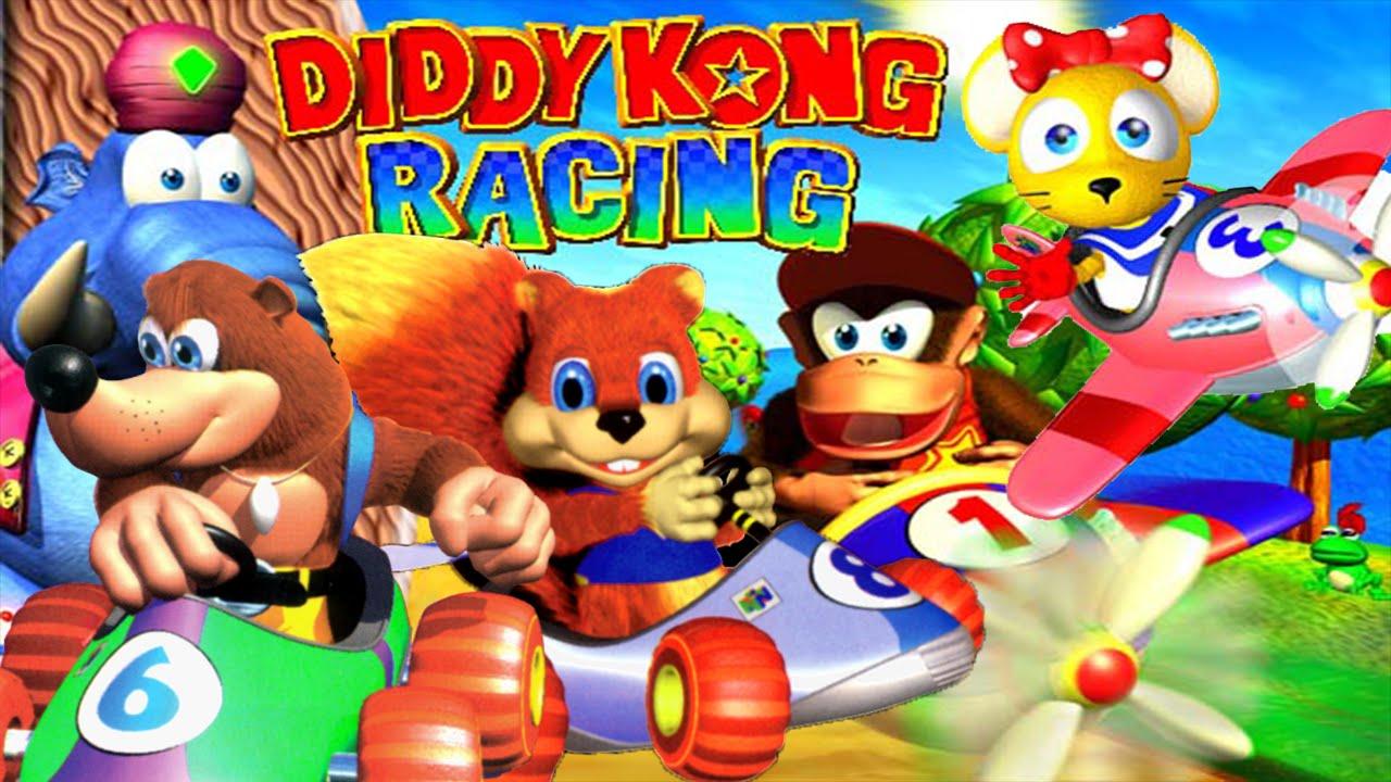 ABM: Nintendo 64 Diddy Kong Racing MATCH!! HD - YouTube