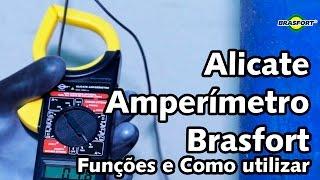 Alicate Amperímetro Brasfort 8559 - como usar