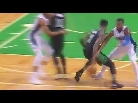 Download Youtube: Jaylen Brown Impersonates Kyrie Irving with INSANE Crossover! Celtics vs Magic