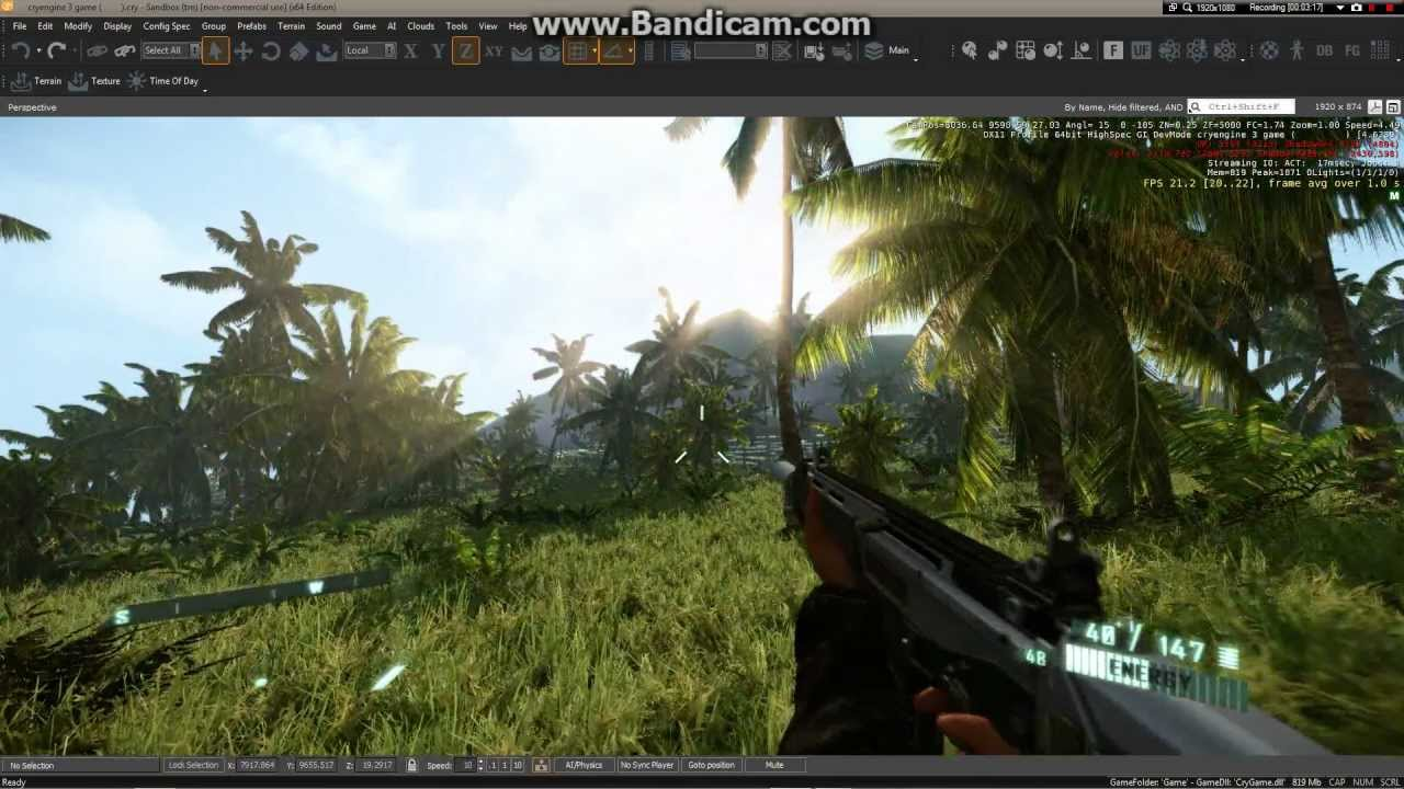 Far Cry 3 Cryengine 3 My Custom Map Youtube