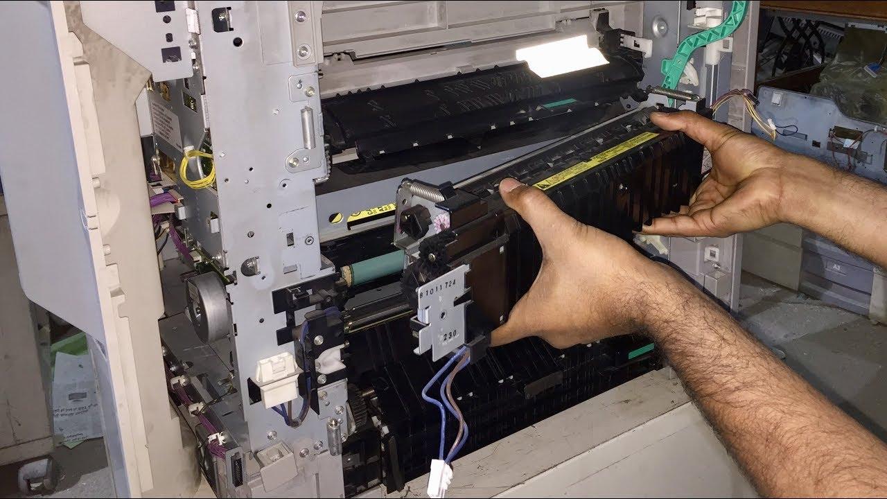 CANON IR2420, IR2018, IR2020 fuser film replacement instructions   error  code e0007 problem solution