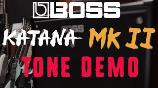 10 Awesome tones on the new Boss Katana 100 Mk II - Download from Boss Tone Central
