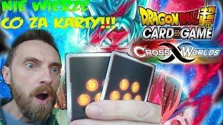 NIE WIERZE CO ZA EPICKIE KARTY SZOK!!! DRAGON BALL CROSS WORLDS CARD GAME