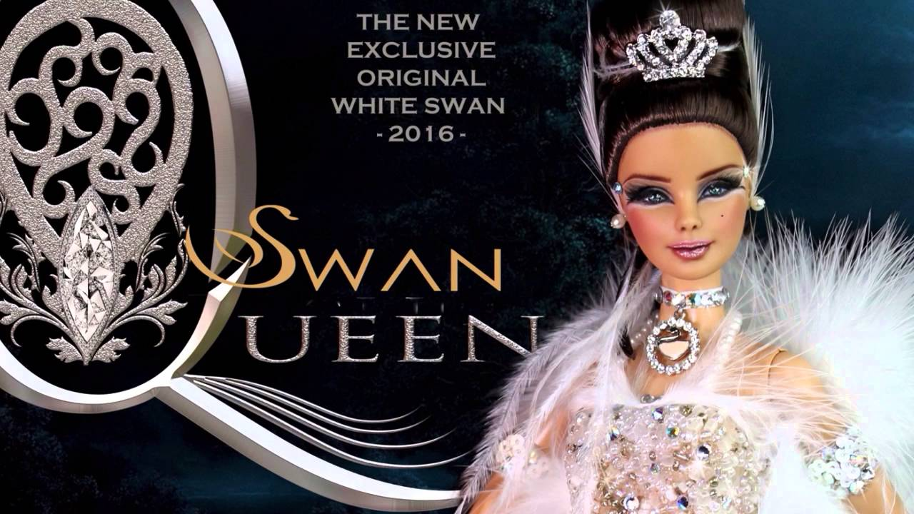 Swan queen special edition 2016 of white swan 2016 ooak barbie.