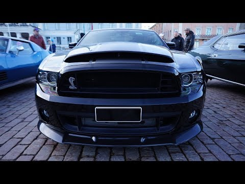 World's Greatest MUSCLE CARS Come Out To Play at the HELSINKI CRUISING NIGHT 5/2018