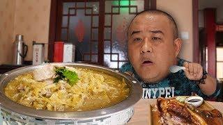 【吃货请闭眼】哈尔滨最有名的杀猪菜!烩菜加血肠,肥而不腻,越煮越香!