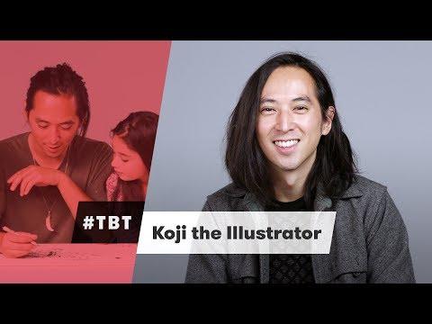 Koji the Illustrator | #TBT | Cut