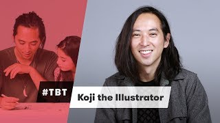 Koji the Illustrator - #TBT