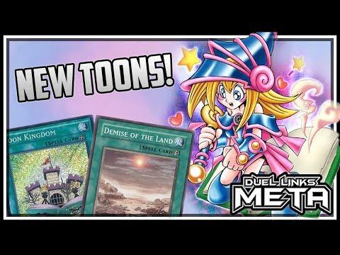 New Toons! X3 Toon Dark Magician Girl! [Yu-Gi-Oh! Duel Links]