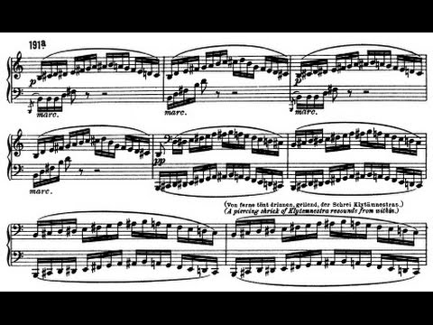 'Elektra (Op.58) ' by R. Strauss (Audio + Sheet Music)