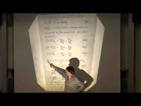 Electromagnetism and Optics - Lecture 5: The Vector Potential