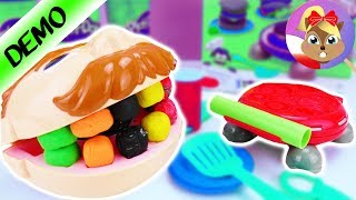 Play-Doh Kitchen Creators Burger Party unboxing otwieram z Dr Ząbkiem | Baw się ze mną
