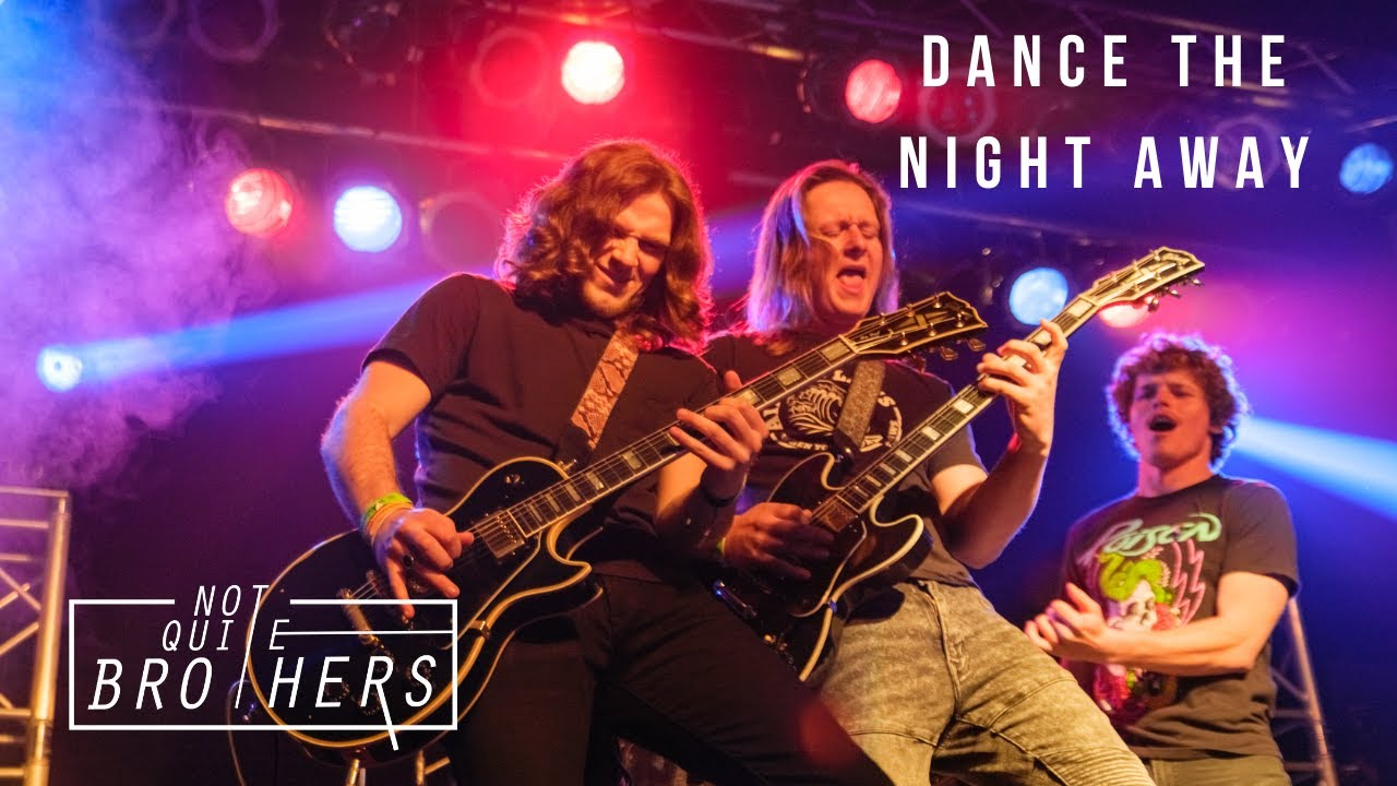 Dance the Night Away l Van Halen (Not Quite Brothers Cover) (Live at Wooly's)