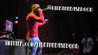 Lil B The Based God 1st Solo Performance