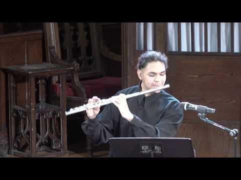 Bloomingdale School of Music - Notes from 108th Street - David Valderrama, Flute