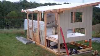 Chicken Houses Plan DIY - How To Build a Chicken House - Learn from The Masters