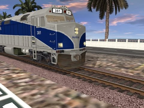 Railfanning Amtrak and Metrolink on Trainz Simulator 2012 |