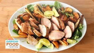 Spicy Pork With Parsnips And Sweet Potatoes - Everyday Food With Sarah Carey