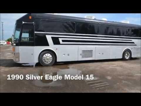 1990 Silver Eagle Bus