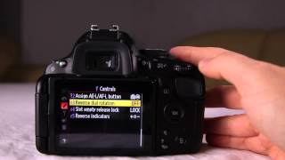 How To Use Your Nikon D5100 Part 5 of 7 The Custom Settings & The Setup Menu Functions & Options