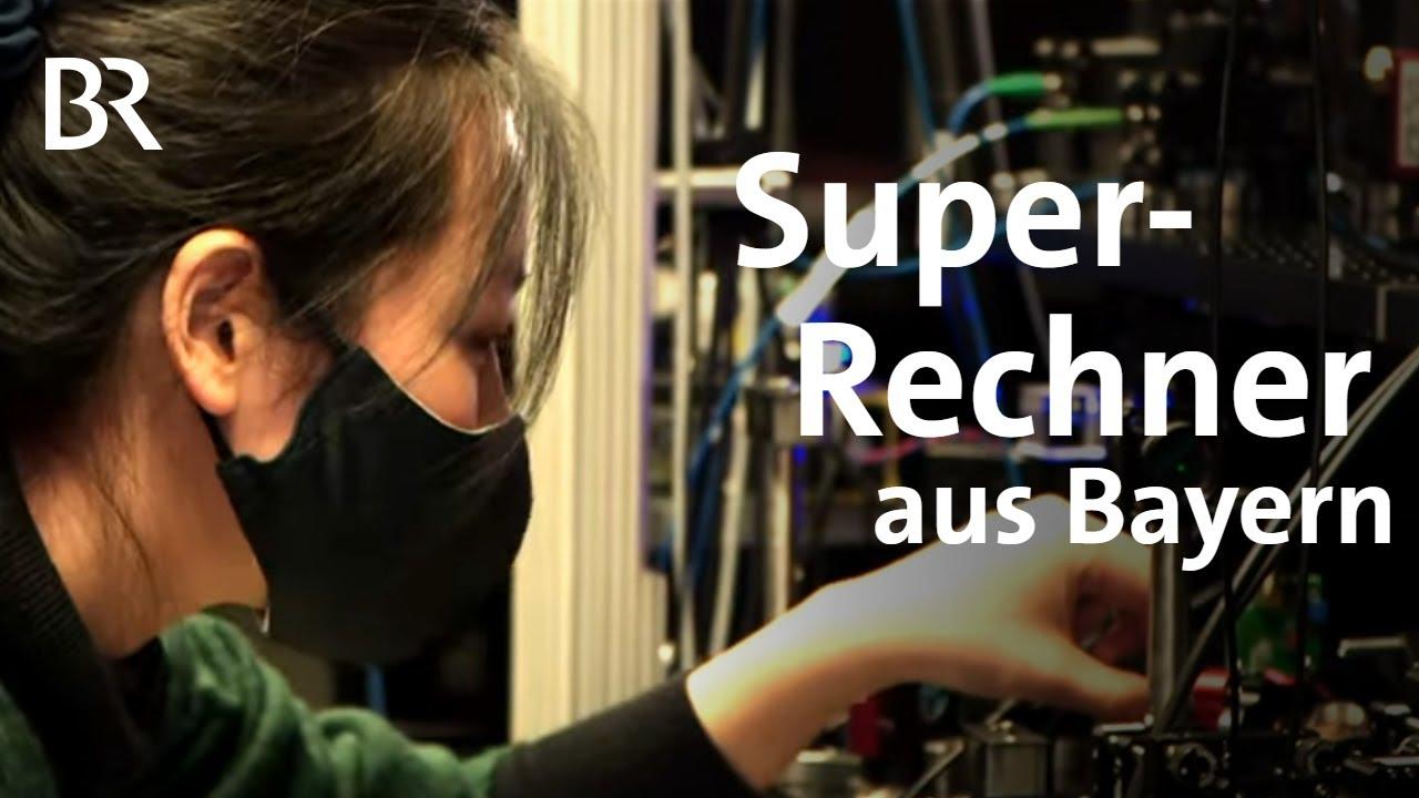 Quantencomputer: Quantenbits und Superrechner aus Garching | Gut zu wissen | BR - Bayerischer Rundfunk