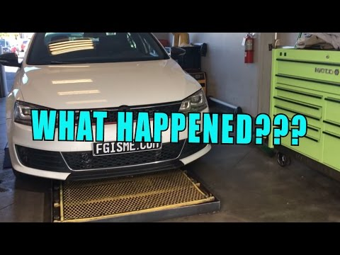 Replacing the front splitter (Vlog)