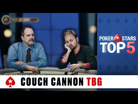 Top 5 Poker Moments - The Big Game: Couch Cannon | PokerStars.com streaming vf