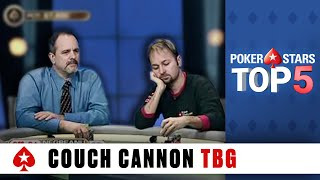 Top 5 Poker Moments - The Big Game: Couch Cannon | PokerStars.com