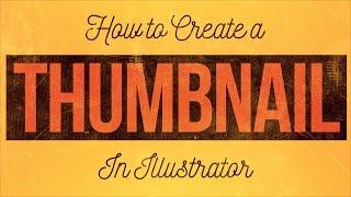 Adobe Illustrator CC Youtube Küçük resim Oluşturma