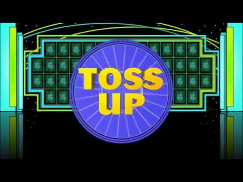 Wheel Of Fortune Powerpoint Toss Up Sample