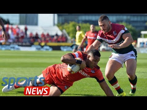 Tonga 24 Lebanon 22: Referee Ben Thaler at centre of controversy in dramatic quarter final