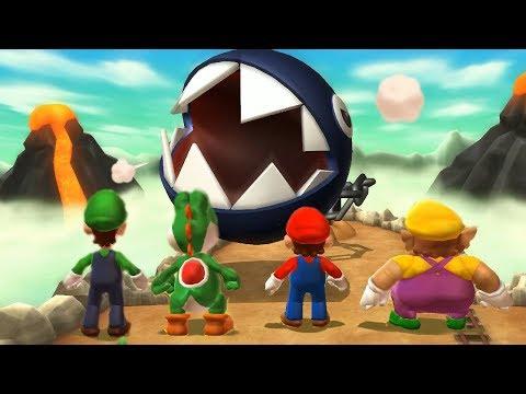 Mario Party 9 Boss Rush - Luigi vs Yoshi vs Mario vs Wario| Cartoons Mee