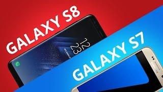Samsung Galaxy S7 vs Galaxy S8 [Comparativo]