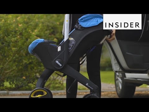 this-baby-car-seat-turns-into-a-stroller