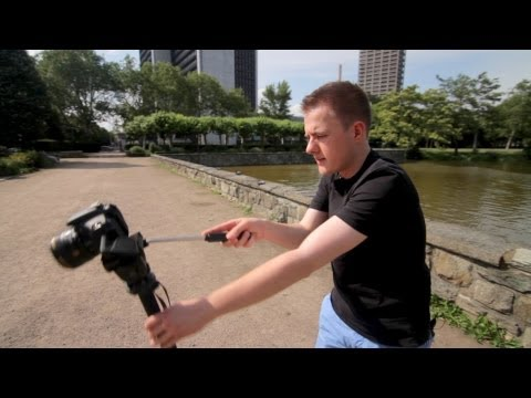 How to get tracking shots with a monopod!