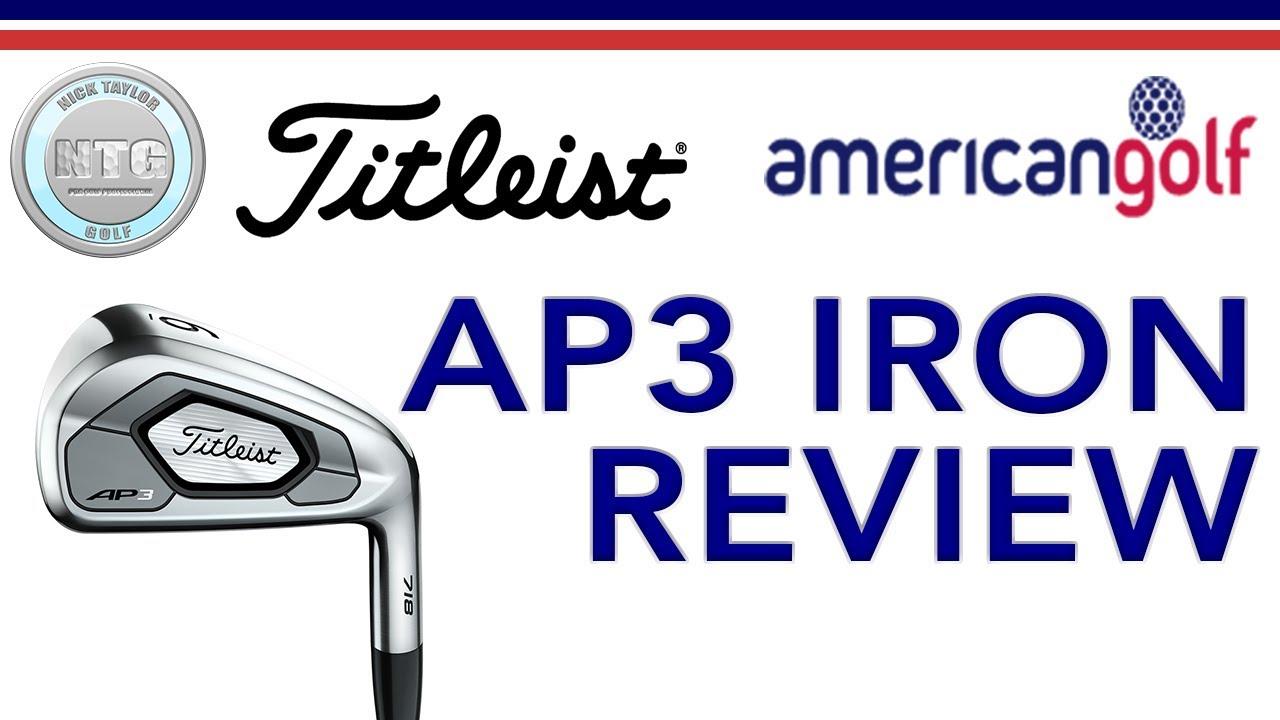 Titleist 718 AP3 | Review | American Golf