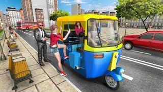 Modern Tuk Tuk Auto Rickshaw - Free Driving Games - Android Gameplay #1 screenshot 5