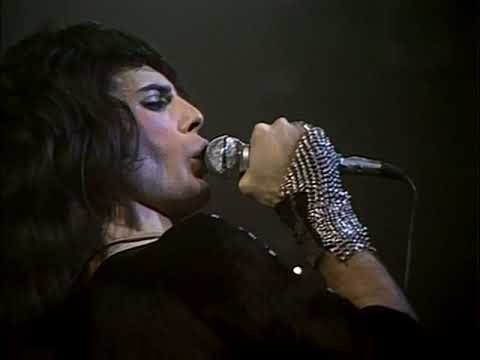 Queen - Big Spender & Modern Times Rock n Roll  at the Rainbow 1974 Color Corrected