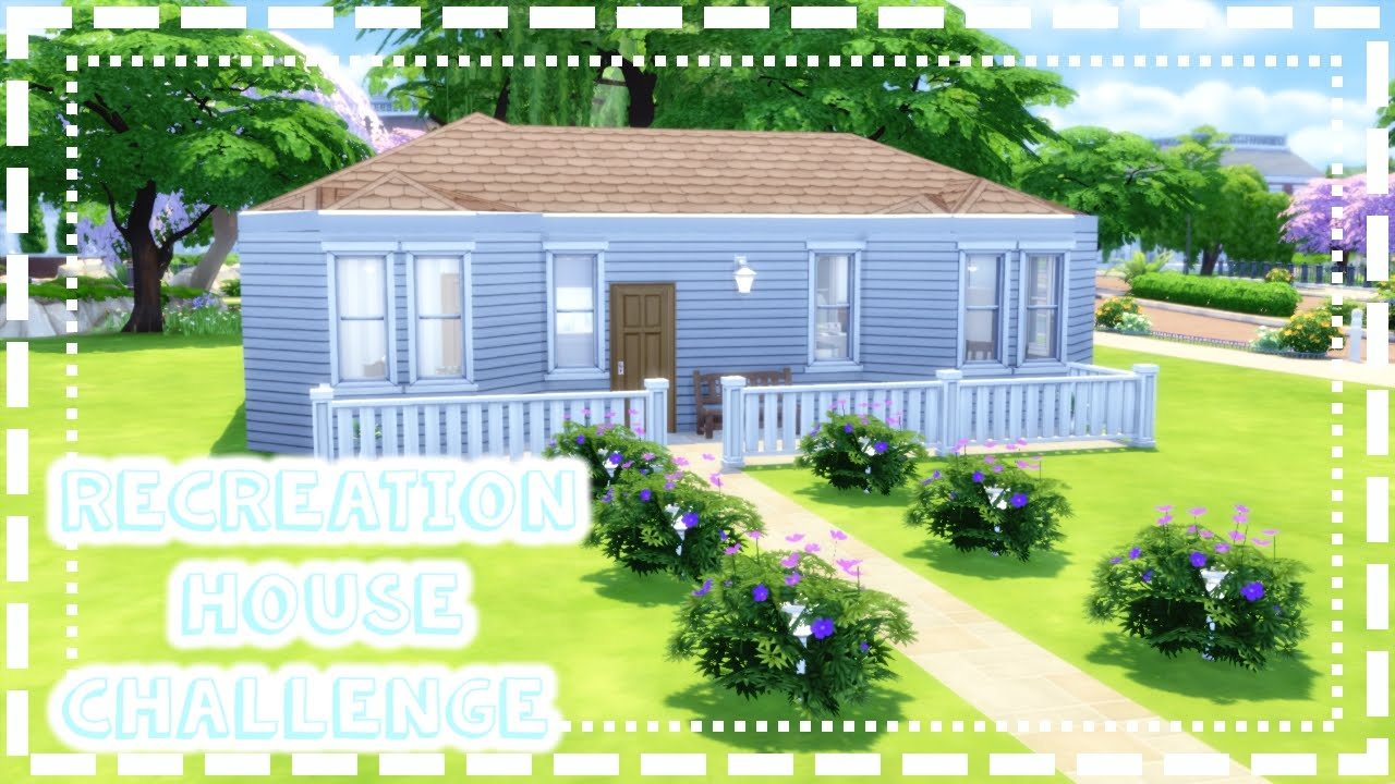 The Sims 4 | Recreation House Challenge | Moms House | The Sims Bustin Out