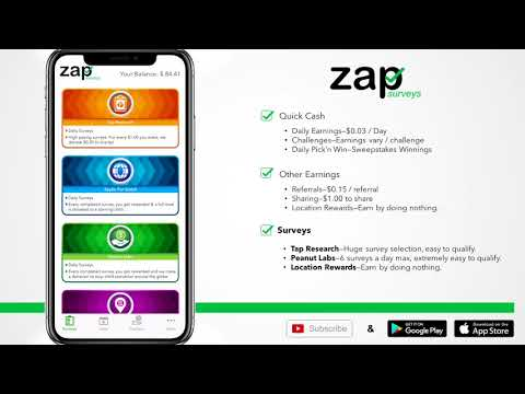 Best Ways to Earn Cash With Zap Surveys (iOS app and Android