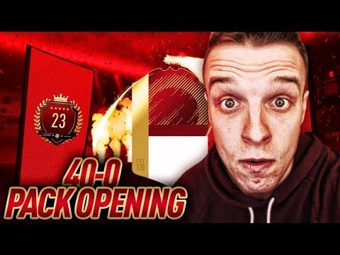 Otwieramy paczki za 40-0 FUT Champions! TOP23 #riptorek