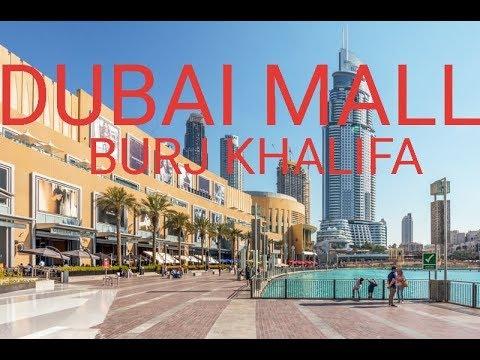 DUBAI MALL || DUBAI MALL FOUNTAIN || BURJ KHALIFA || DUBAI || UAE