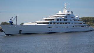Azzam Sea Trail - longest Yacht in the World